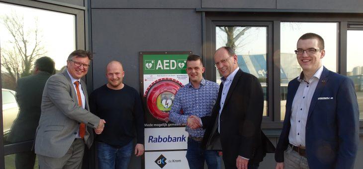 Eerste AED 24/7 beschikbaar op Vosdonk