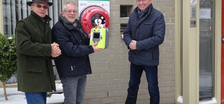 Crowdfunding voor AED groot succes.