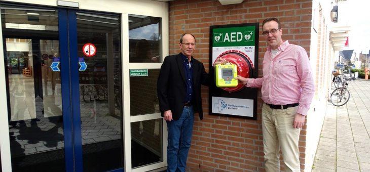 Ingebruikname AED huisartsenteam De Keen