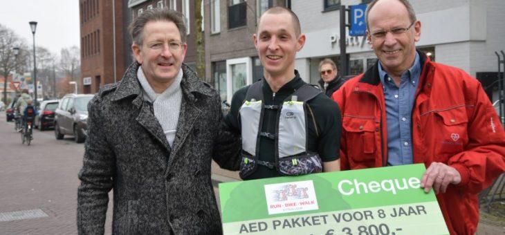 Run-Bike-Walk Etten-Leur haalt 3.800 euro voor hartveilig Etten-Leur op