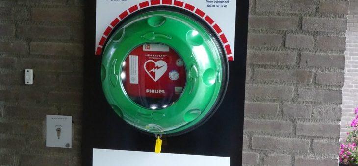 Tweede AED 24/7 beschikbaar op Vosdonk